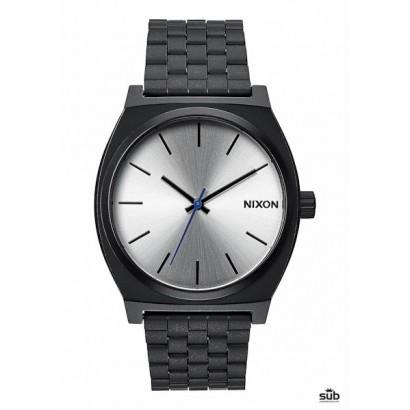 nixon time teller black silver