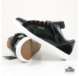 diamond vvs black brown leather