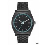 nixon time teller all black blue